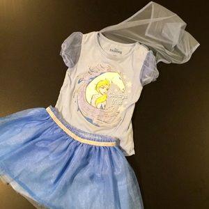 Frozen 2 tutu outfit